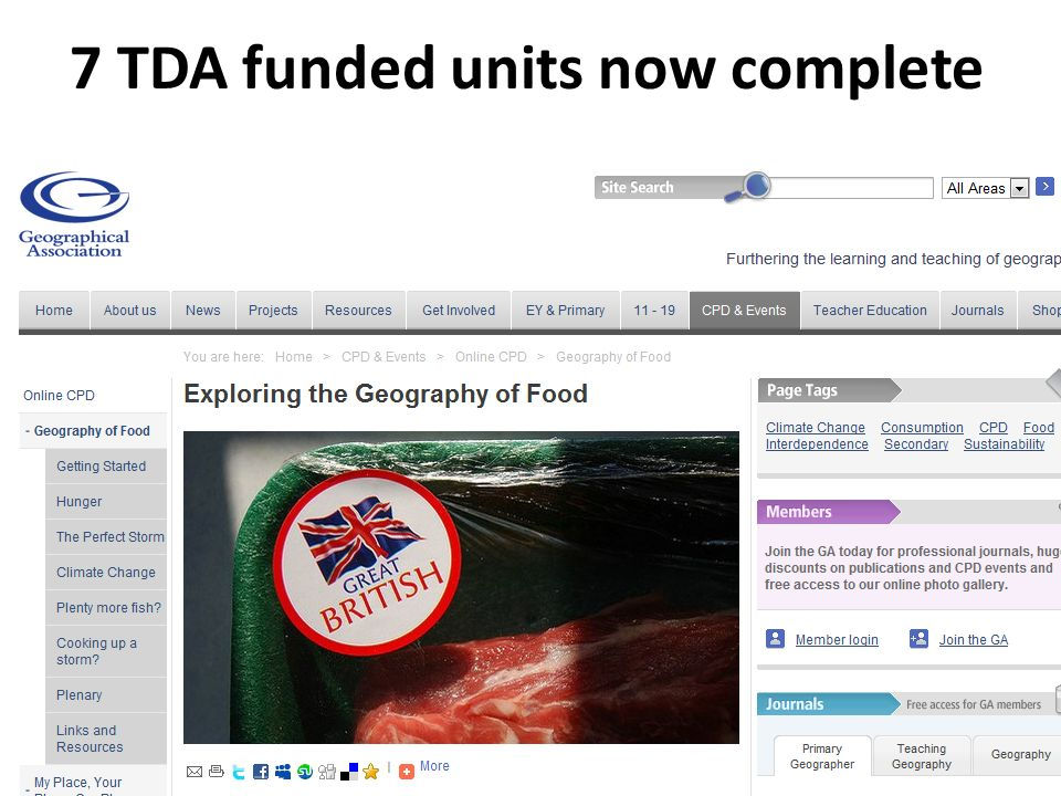 7 TDA funded units now complete