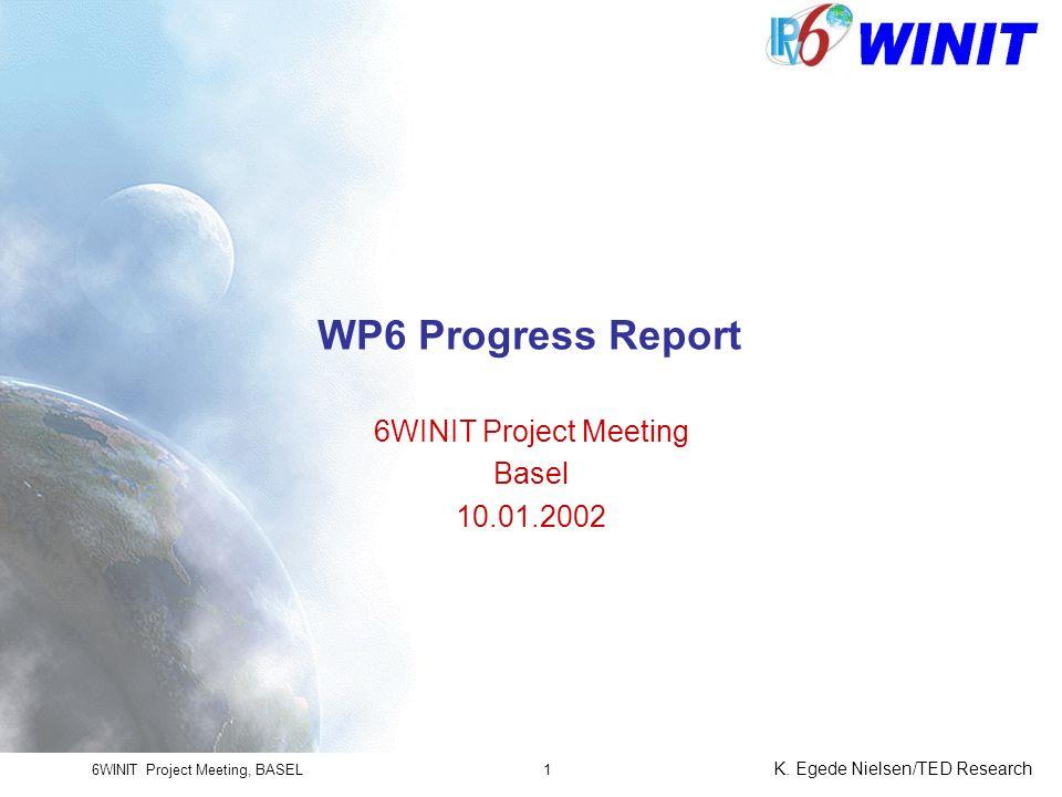 6WINIT Project Meeting, BASEL K.