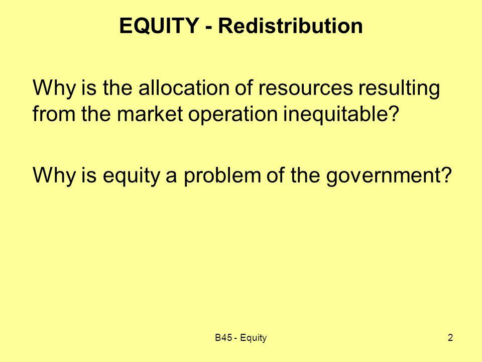 B45 - Equity23