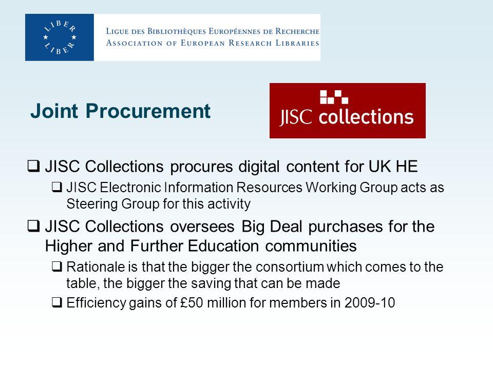 Recent successes Hardline negotiation with academic publishers One publisher wanted c.