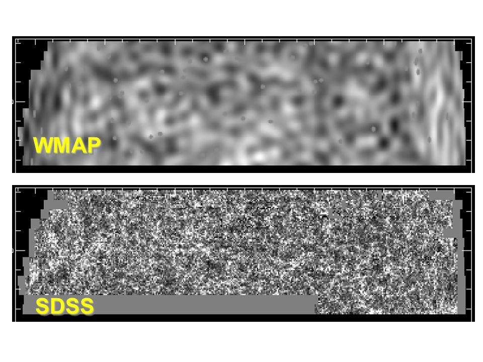 SDSSSDSS WMAPWMAP