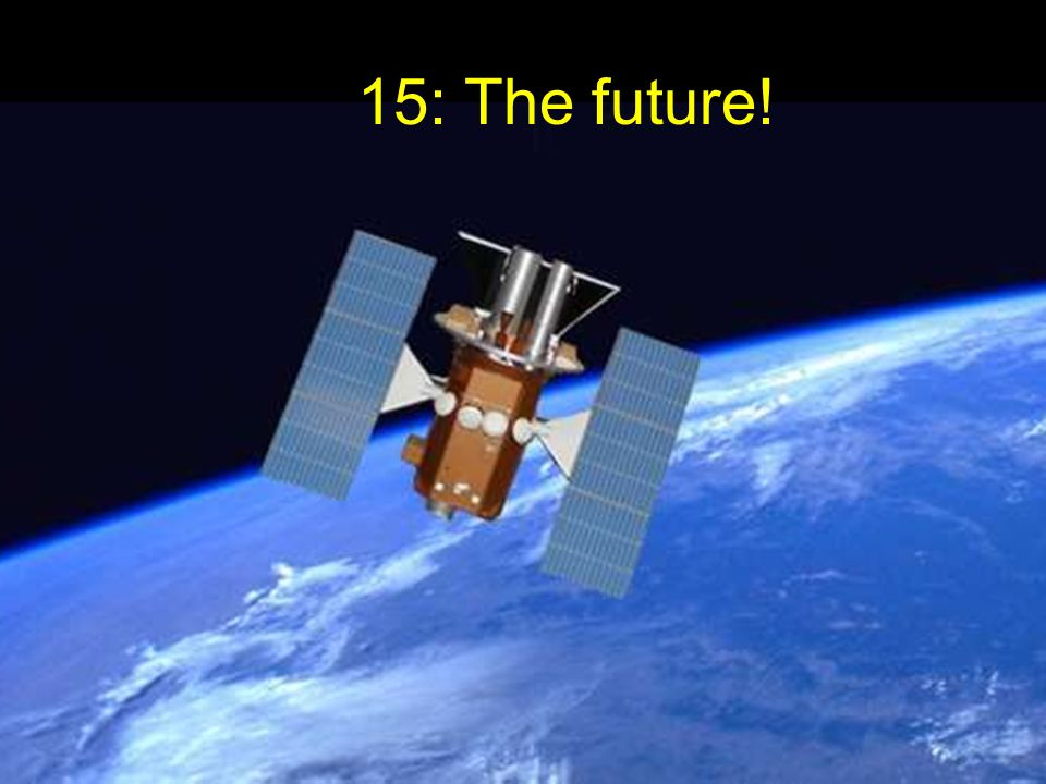 15: The future!