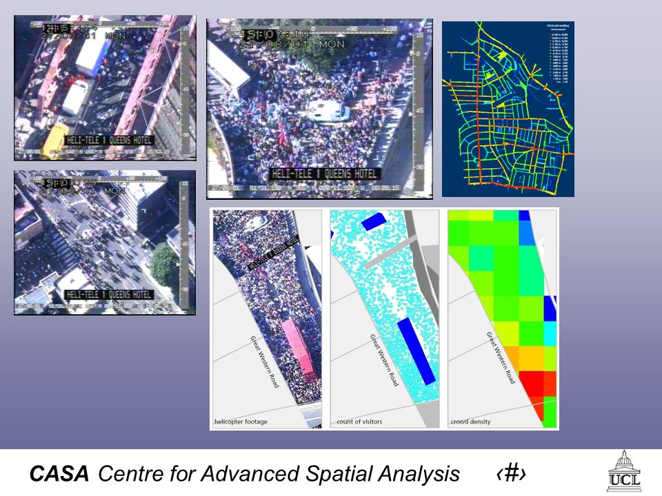 CASA Centre for Advanced Spatial Analysis 18