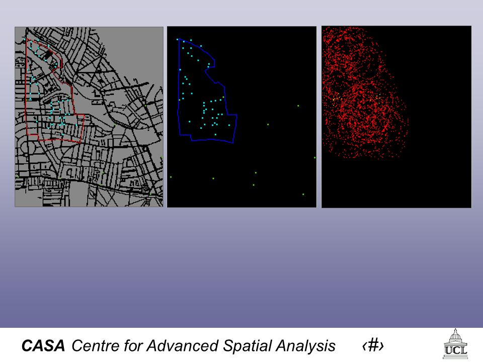 CASA Centre for Advanced Spatial Analysis 26