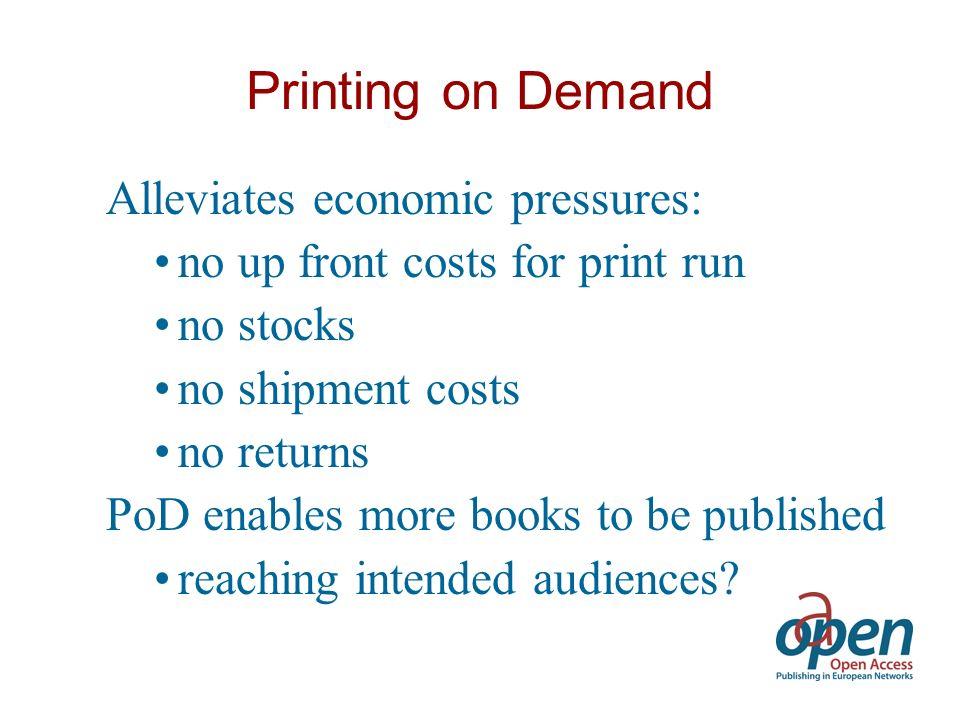 Various tasks Dissemination & Awareness Focused Studies Open Access Publication Model Publication Services Online Library