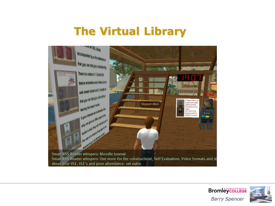 Barry Spencer The Virtual Library