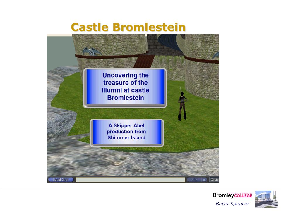 Barry Spencer Castle Bromlestein