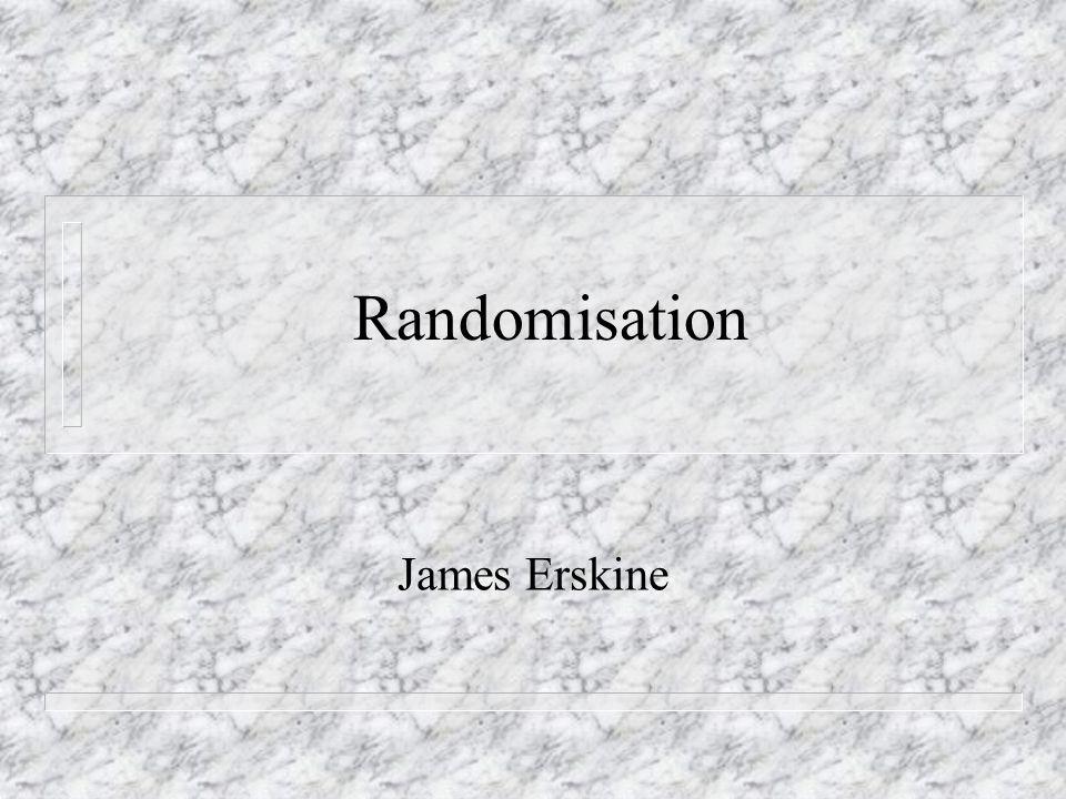 Randomisation n Youre so random, compliment or insult.