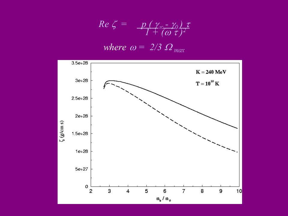 Re = p ( - 0 ) 1 + ( ) 2 where = 2/3 max