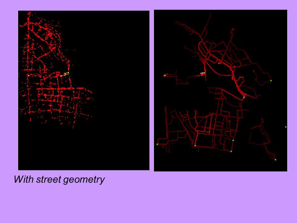 With street geometry