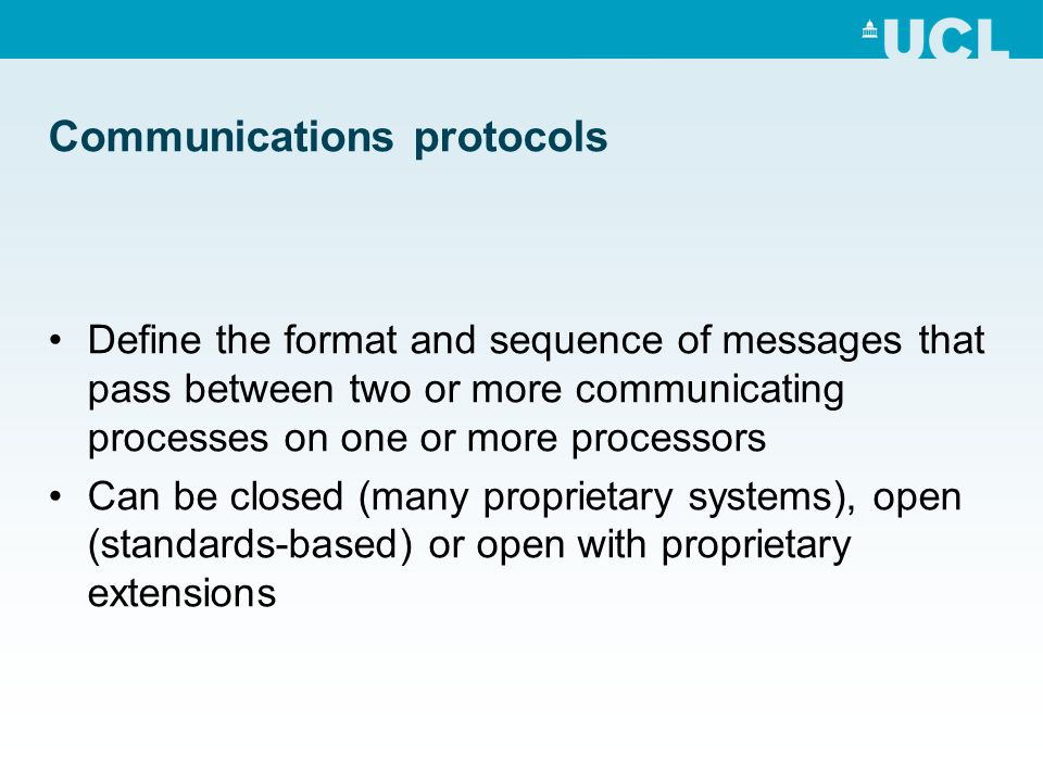 What does a protocol look like.