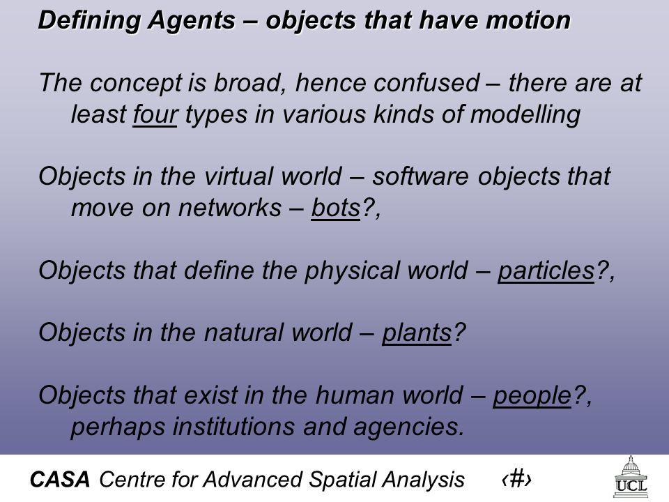 CASA Centre for Advanced Spatial Analysis 46