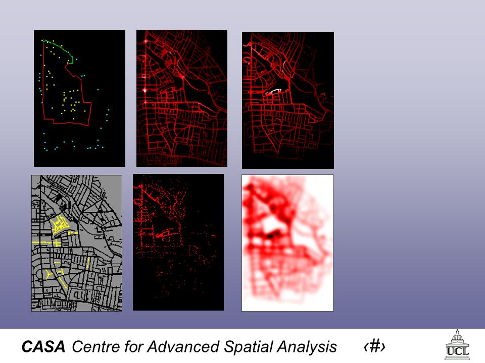 CASA Centre for Advanced Spatial Analysis 52