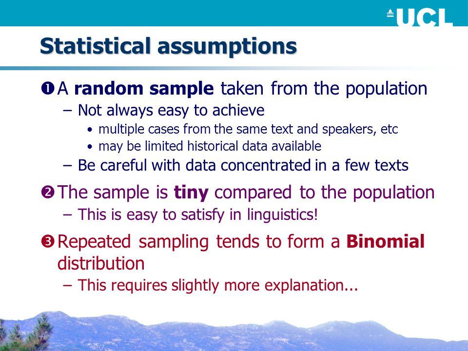 Cramérs φ Can be used on any χ² table –Mathematically well defined –Probabilistic (c.f.