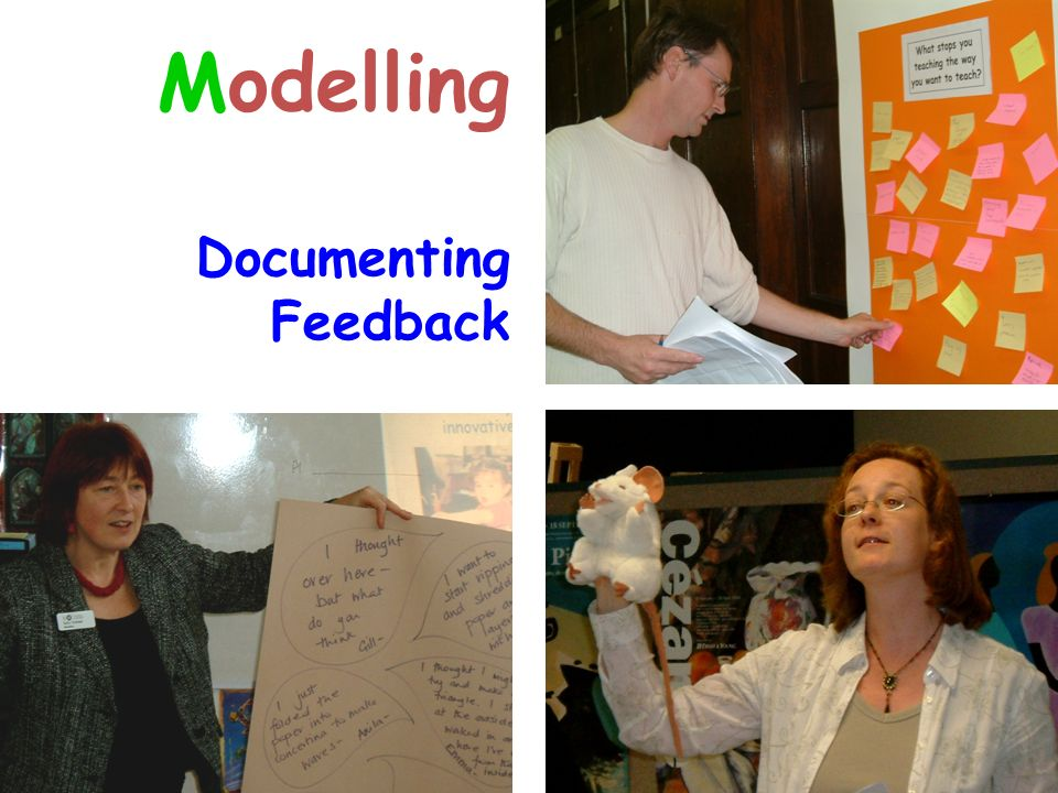 Modelling Documenting Feedback