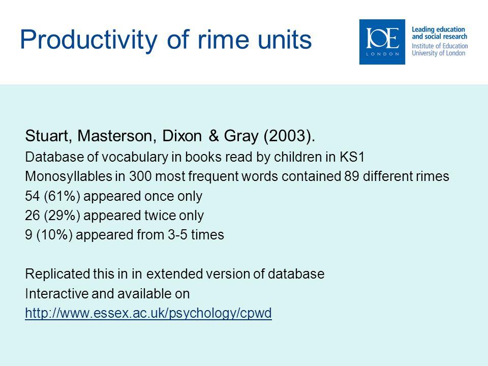 Stuart, Masterson, Dixon & Gray (2003).