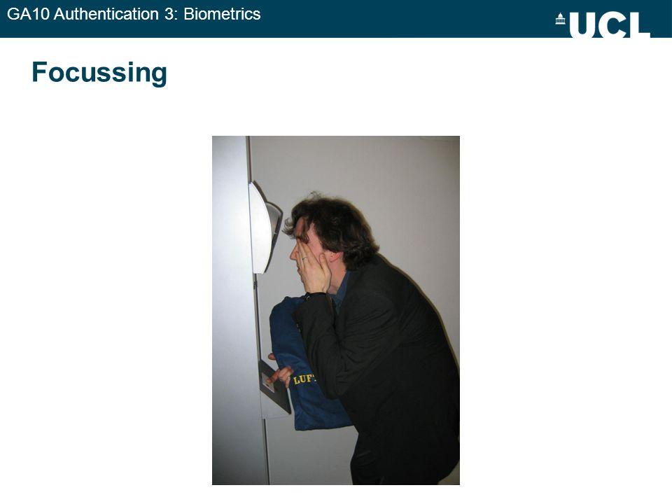 GA10 Authentication 3: Biometrics Focussing