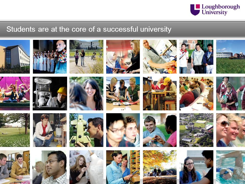 Students are at the core of a successful university