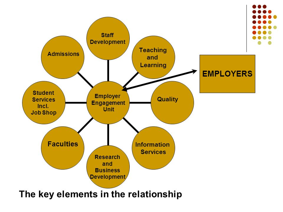 Employer Engagement Unit Staff Development Teaching and Learning QualityInformation Services Research and Business Development Faculties Student Services Incl.