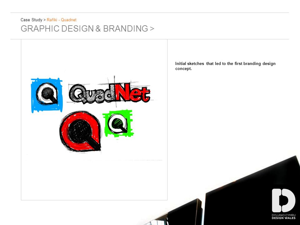 Case Study > Rafiki - Quadnet GRAPHIC DESIGN & BRANDING > Initial sketches that led to the first branding design concept.