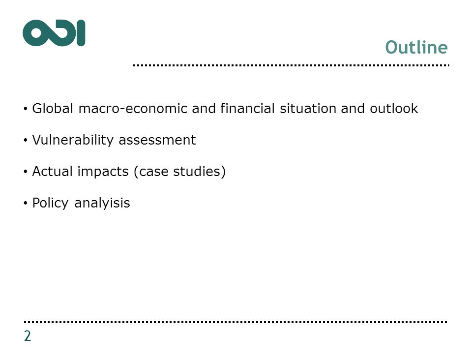 Economic growth trends and forecasts 3 Projections of global GDP growth have been revised downwards.