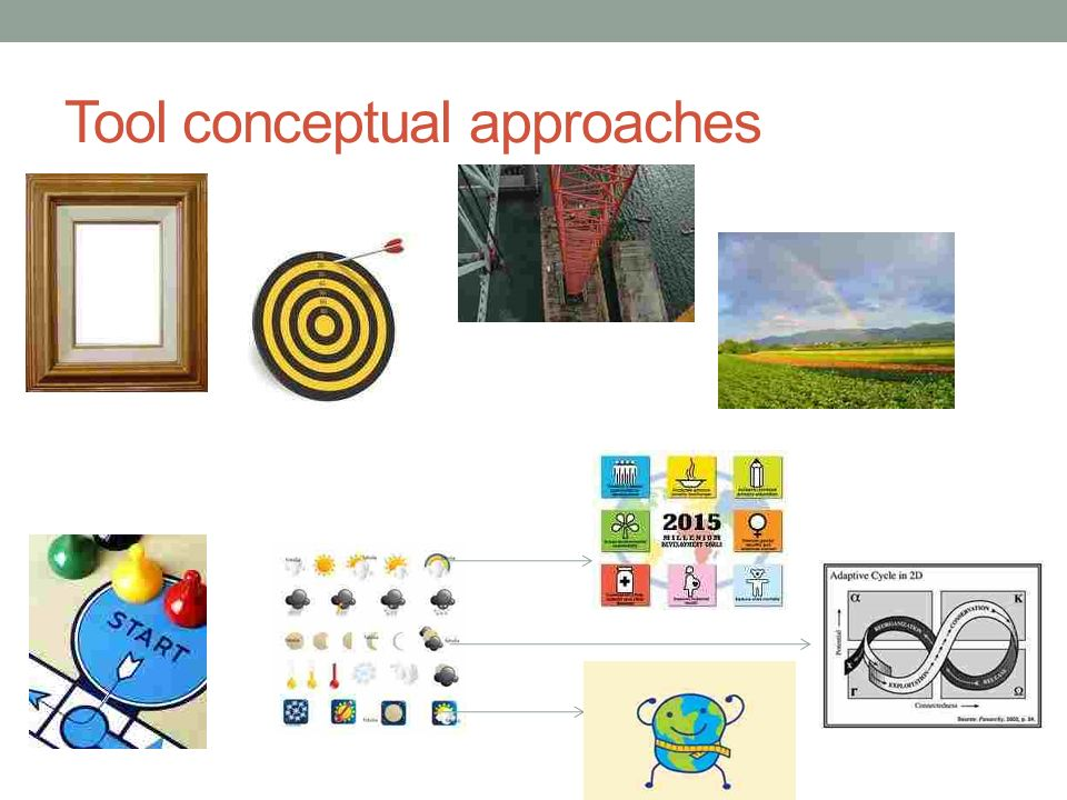 Tool conceptual approaches