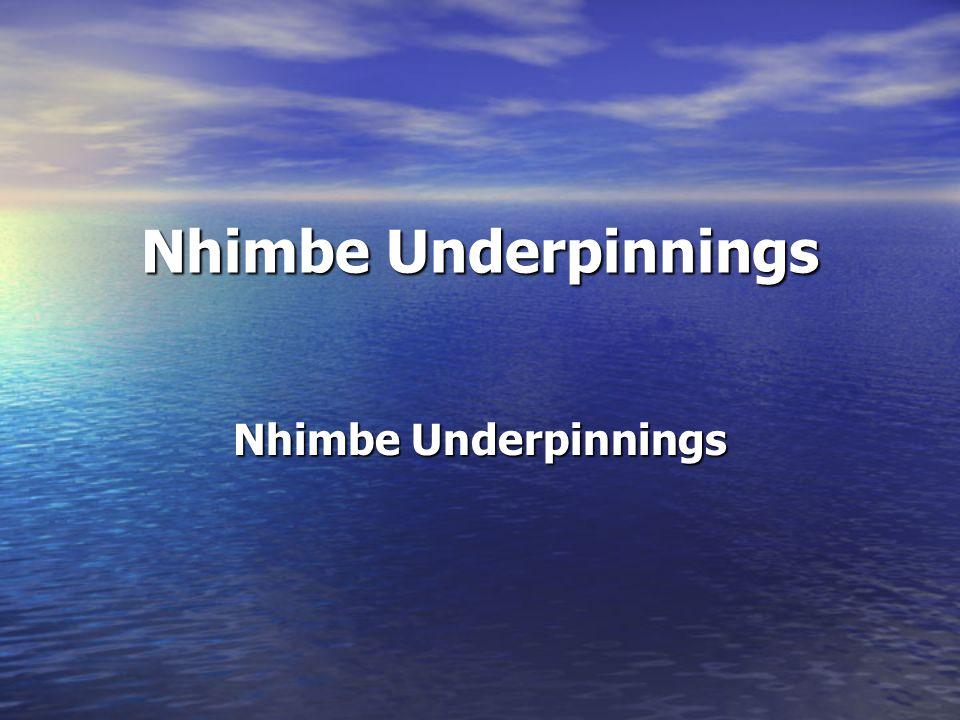 Nhimbe Underpinnings