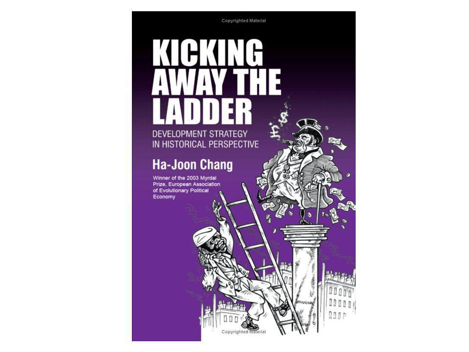 Kicking away the ladder- picture