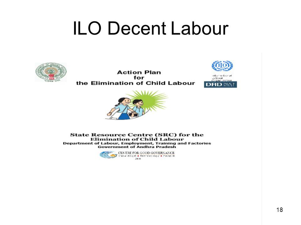 18 ILO Decent Labour
