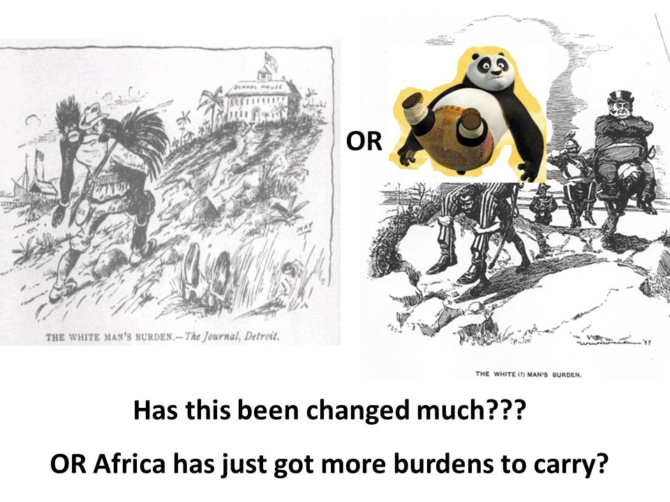 OR Has this been changed much??? OR Africa has just got more burdens to carry?
