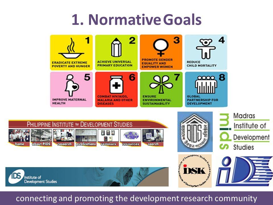 1. Normative Goals