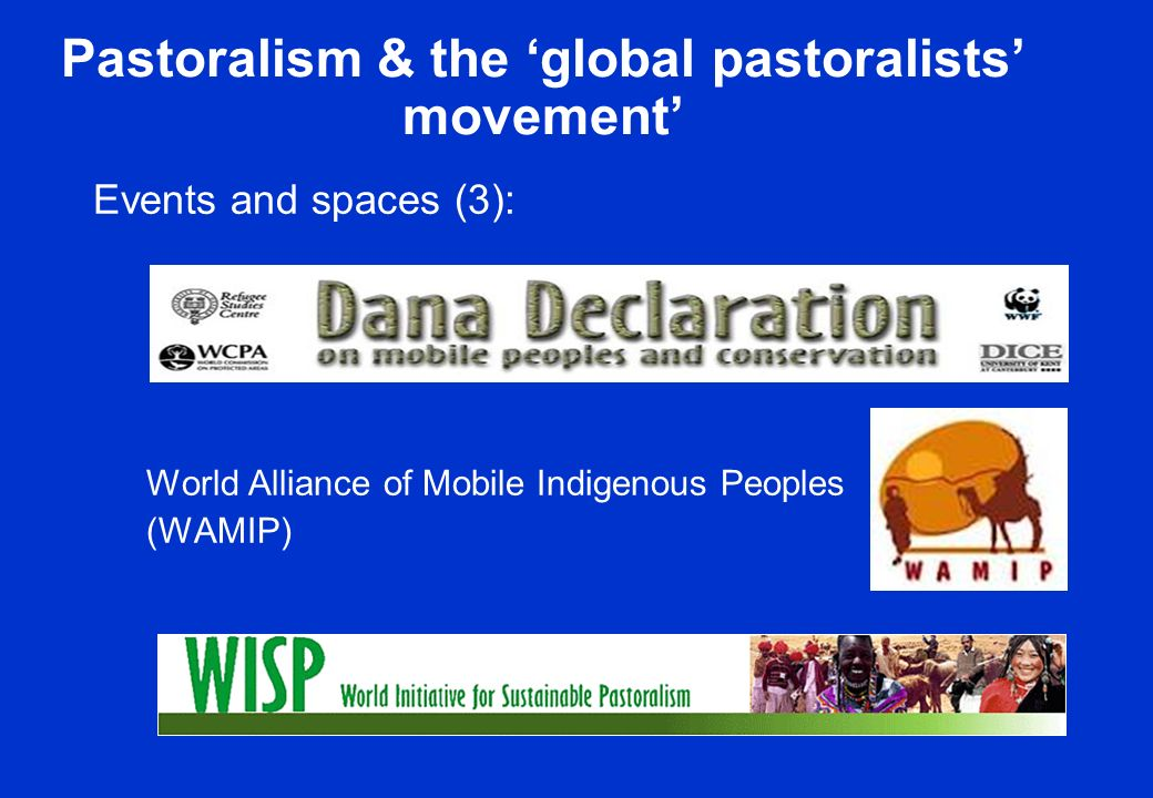 Pastoralism & the global pastoralists movement Events and spaces (3): World Alliance of Mobile Indigenous Peoples (WAMIP)