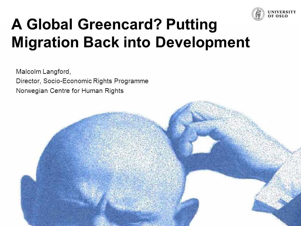 Signature (unit, name, etc.) A Global Greencard.