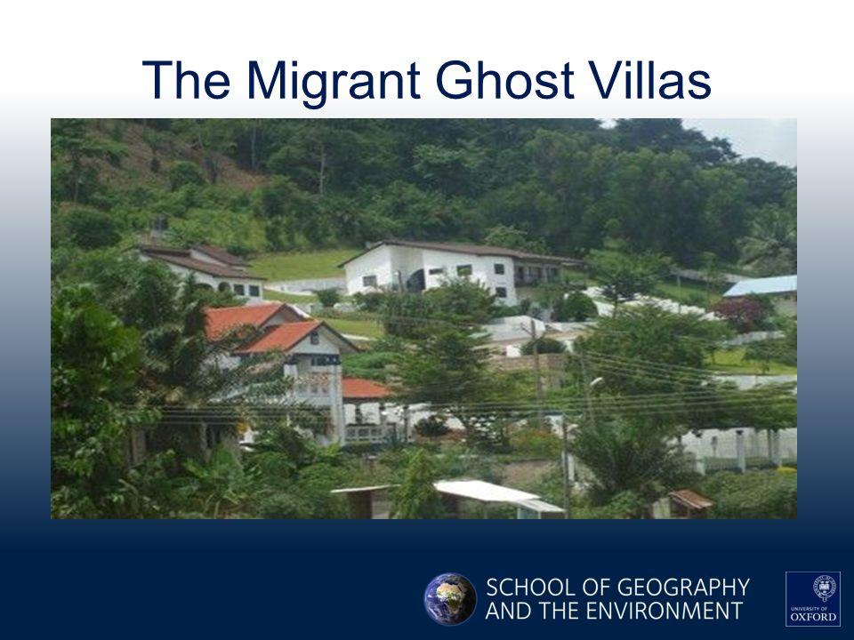 The Migrant Ghost Villas