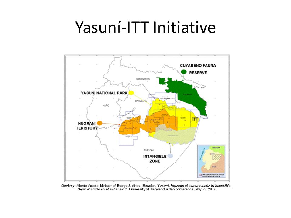 Yasuní-ITT Initiative