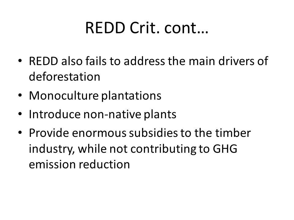 REDD Crit.