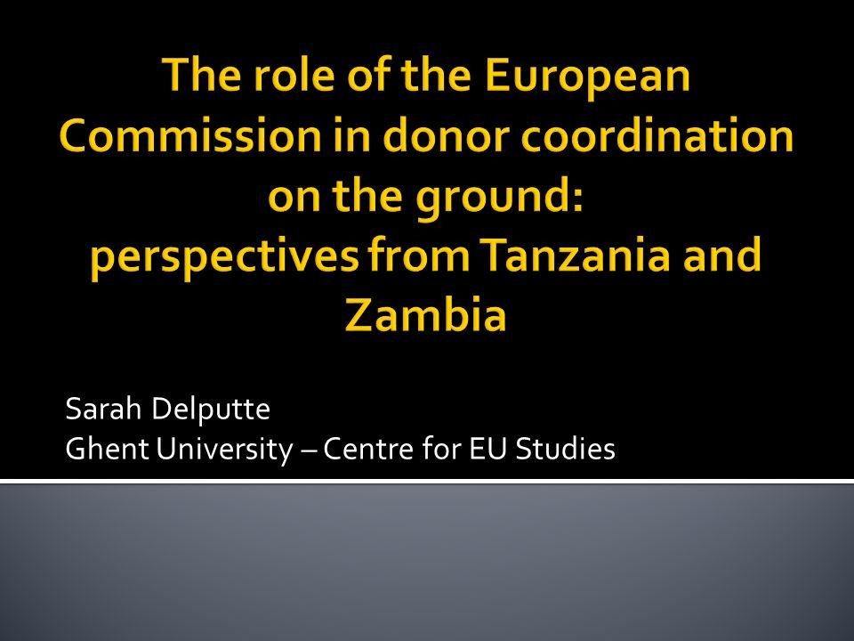 Sarah Delputte Ghent University – Centre for EU Studies