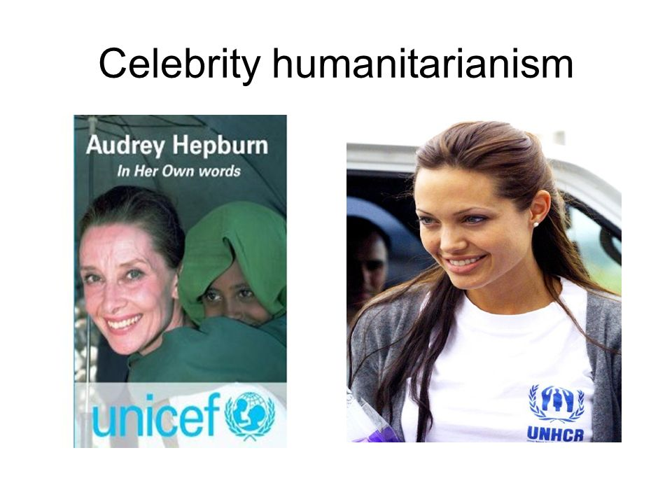 Celebrity humanitarianism