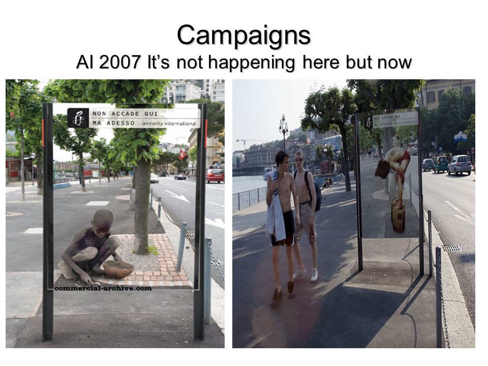 Campaigns AI 2007 Its not happening here but now