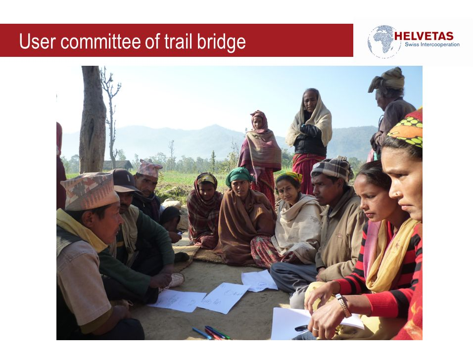 User committee of trail bridge