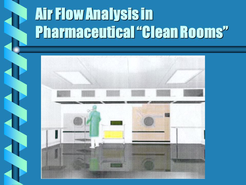 Air Flow Analysis in Pharmaceutical Clean Rooms