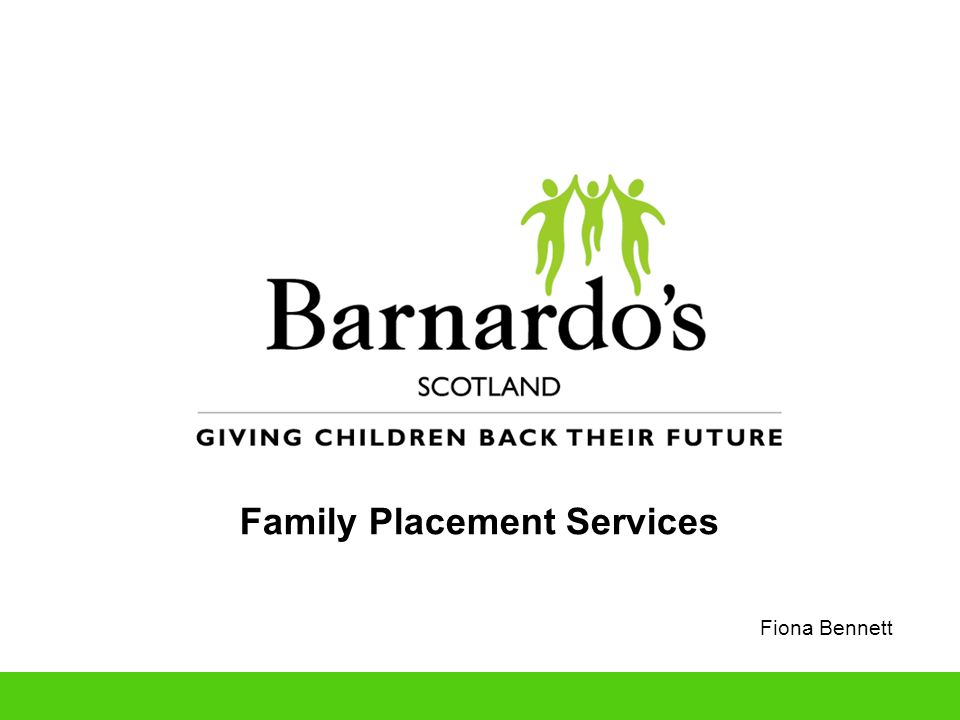 Family Placement Services Fiona Bennett