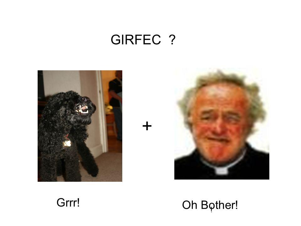 Grrr! Oh Bother! ! + GIRFEC ?