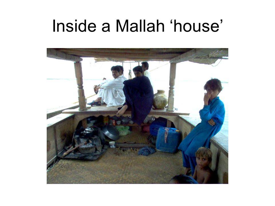 Inside a Mallah house