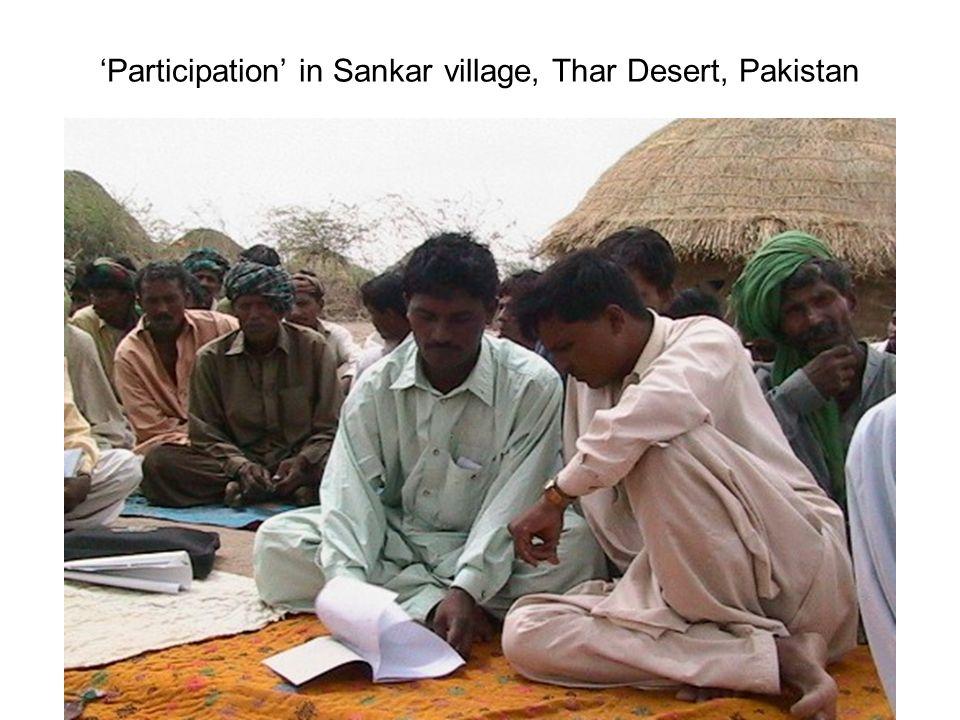 Participation in Sankar village, Thar Desert, Pakistan