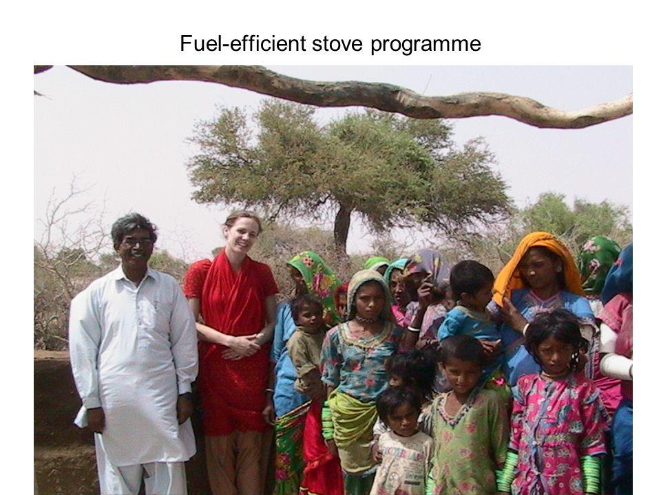 Fuel-efficient stove programme