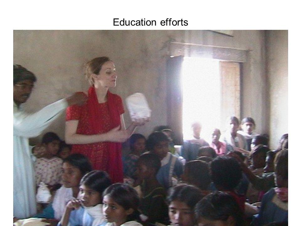 Education efforts