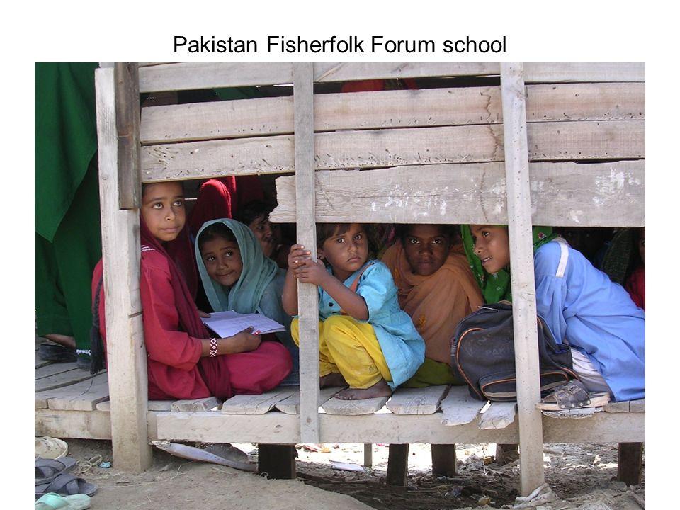 Pakistan Fisherfolk Forum school