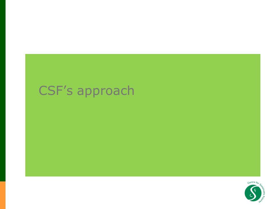 CSFs approach