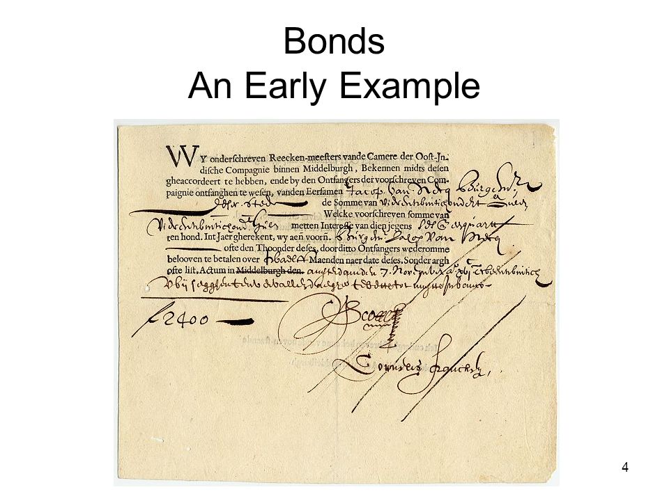 5 Figure 24.2 A Bearer Bond and Its Unclipped Coupons Issued by the Elmira and Williamsport Railroad Company for $500